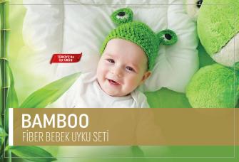Bamboo Fiber Bebek Uyku Seti