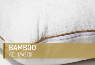 Bamboo Gold Yastık