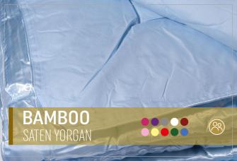 Bamboo Saten Yorgan
