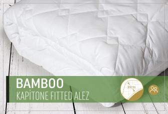 Bamboo Kapitone Fitted Alez (Tek Kişilik) 100 x 200cm