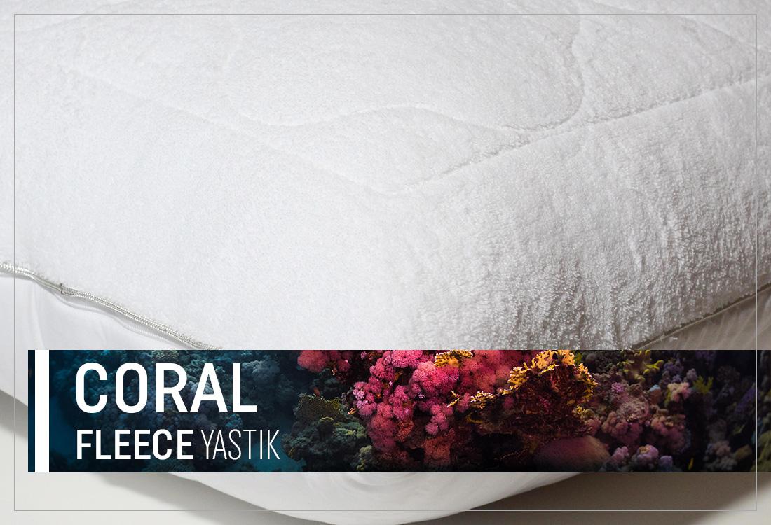 Coral Fleece Yastık