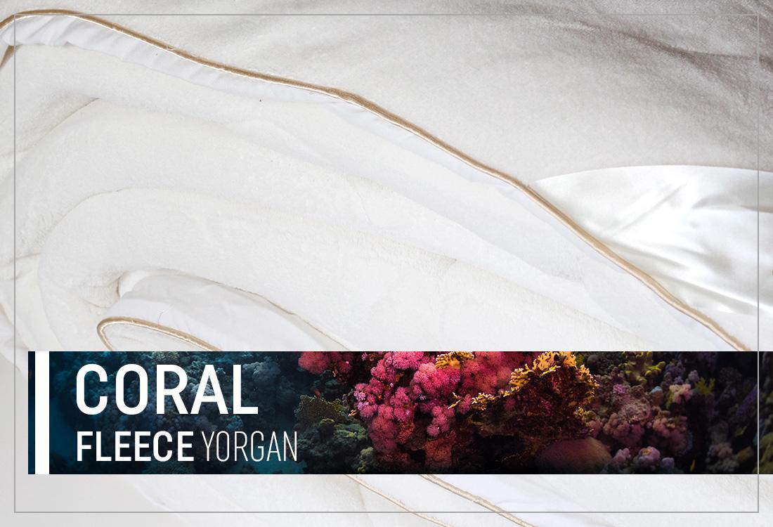 Coral Fleece Yorgan (Çift Kişilik)