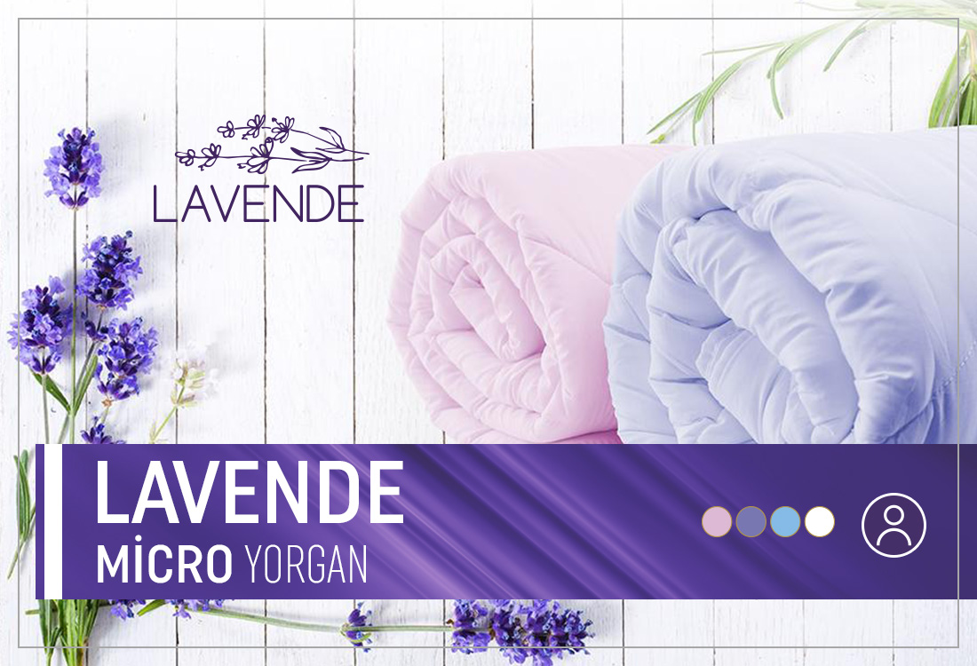 Lavende Micro Yorgan (Tek Kişilik)