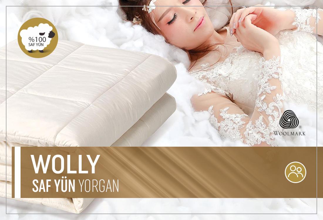 Wolly Saf Yün Yorgan (Çift Kişilik)