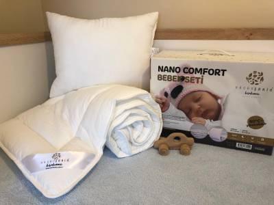 Nano Comfort Bebek Seti(Yorgan+Yastık)